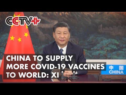 Le président chinois prend la parole au Sommet mondial sur la santé