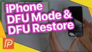 How To Put An iPhone In DFU Mode & DFU Restore Your iPhone!