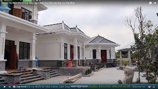 Resort Thu Nhỏ Với Tổ Hợp Nhà Cấp 4-Biệt Thự Hiện Đại Đẹp Tại Thái Bình
