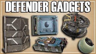 What Gadgets Should Defenders Bring? - Siege School (Rainbow Six Siege)
