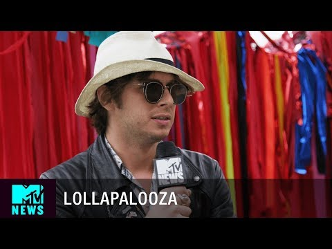 Mark Foster of Foster The People on 'Sacred Hearts Club' at Lollapalooza 2017 | MTV News