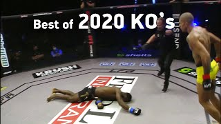 MMA's Best Knockouts of the Year 2020 | Part 2, HD