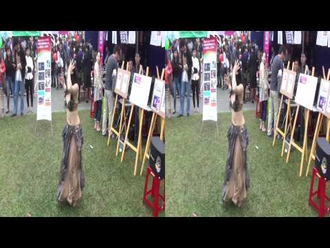 3D | Belly dance 3D - Dư Ngân (Miss Tài Năng ĐH SKDA 2012) @ Charity Bazaar