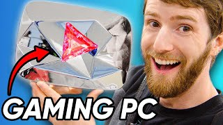 I turned my Diamond Play Button into a Gaming PC