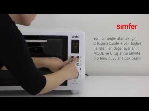 """Simfer """"Dijital Midi Fırın"""" Ürün Tanıtımı"""