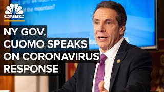 New York Gov. Andrew Cuomo holds a news conference on coronavirus — 11/18/2020