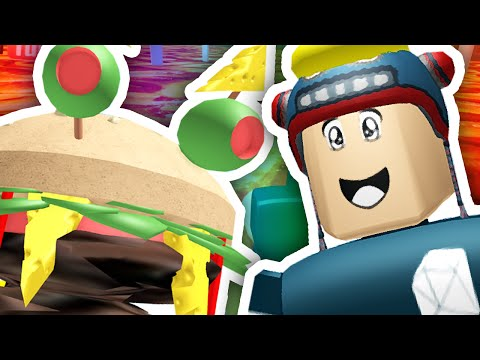 ESCAPE THE GIANT BURGER!! | Roblox