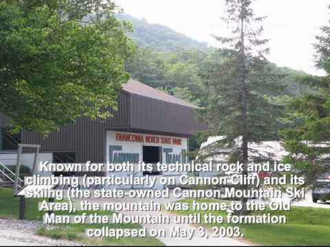 Pictures of Cannon Mountain Tramway and observation deck, NH, US