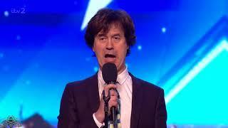 Britain's Got More Talent 2018 Robert Asher Audition S12E02
