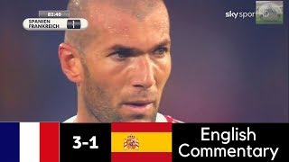 France vs Spain 3-1 - World Cup 2006 - Full Highlights (English Commentary) HD