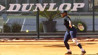 #P1070199 Serena Williams practice for Roland Garros 2019