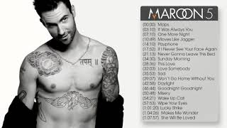 The best songs of Maroon5 - YouTube