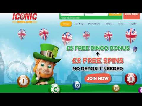Iconic Bingo- Best New Online Bingo Sites UK