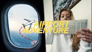 AN AIRPORT ADVENTURE  (TRAVELING ALONE)