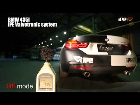 IPE Innotech Exhaust iPE BMW 4 Series 435i valvetronic