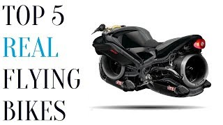 5 Real Flying Bikes That Actually Fly