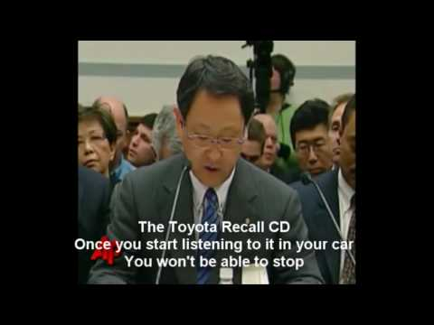 Toyota Recall Song Music Video