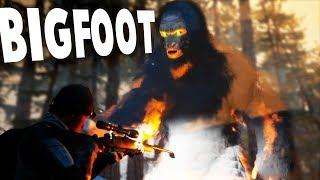 Finding Bigfoot - MASSIVE Gameplay Reveal! BIGFOOT EATS THE PLAYERS! - Bigfoot Gameplay