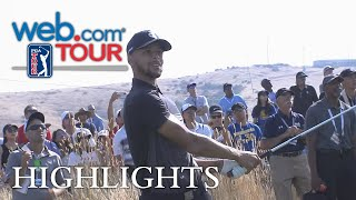 Stephen Curry's Round 1 highlights from from Ellie Mae