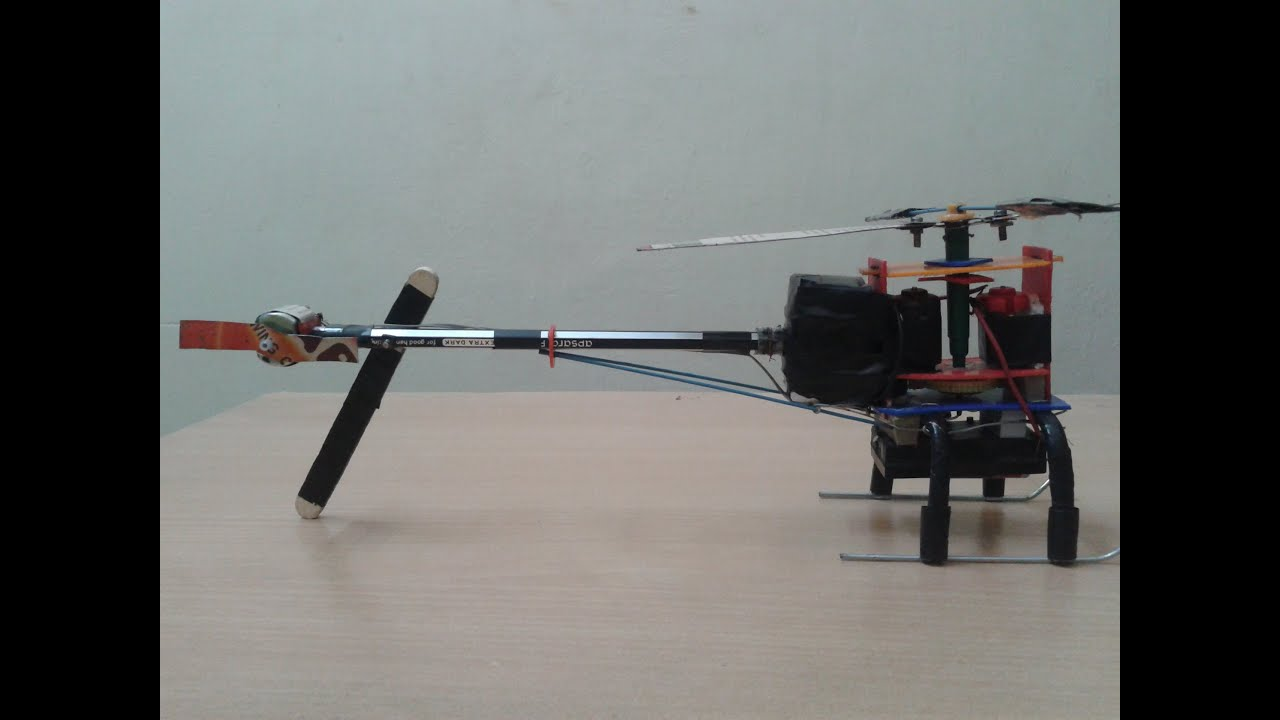 My First Experience With Homemade Little Toy Helicopter