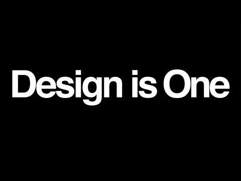 'Design Is One' Trailer