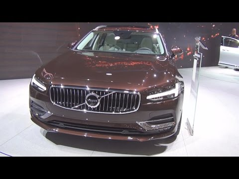 Volvo V90 D5 AWD Inscription (2016) Exterior and Interior in 3D