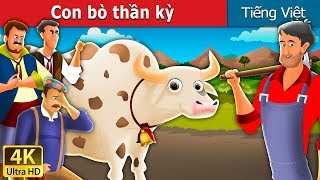 Con bò thần kỳ | Magic Cow Story in Vietnam | Truyện cổ tích việt nam