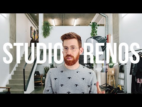 Loft Studio Renovation Tour
