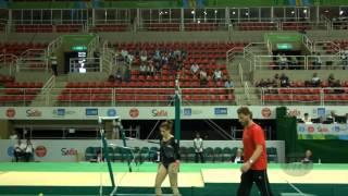 DEREK Ana (CRO) - 2016 Olympic Test Event, Rio (BRA) - Qualifications Uneven Bars