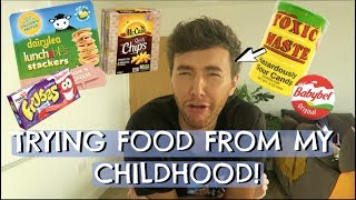 TRYING FOOD FROM MY CHILDHOOD!