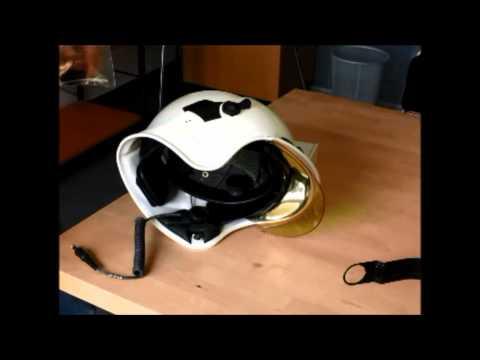 HC1 in Gallet F1S helmet installation full length