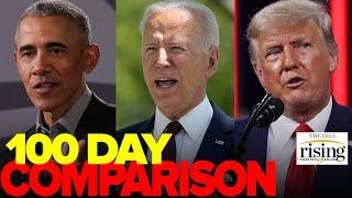 Krystal and Saagar: How Biden's 100 Days COMPARES To Obama, Trump
