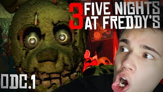 DWIE NOCE! - FIVE NIGHTS AT FREDDY'S 3! #1 [Let's PLay PL]