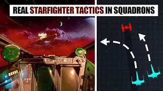 How to use REAL Starfighter Tactics in Star Wars: Squadrons