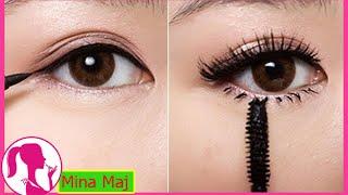 Hướng Dẫn Cách Vẽ Mắt To Tròn Cực Đẹp - How To: Apply Liquid Eyeliner for Beginners