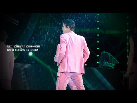 150723 LOVE ME RIGHT - SEHUN in the rain