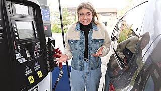 TEEN LEARNS TO PUMP GAS!