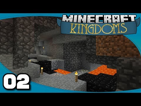 Kingdoms II - Ep. 2: Mines & More | Vanilla Minecraft 1.12 Single-Player Survival
