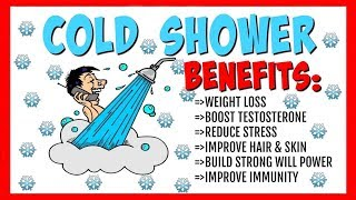 15 Health Benefits of A Cold Shower! **Besides Losing Weight**