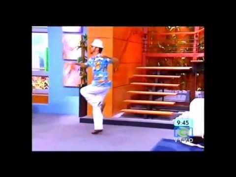Trespalacios bailando en muy Buenos Dias