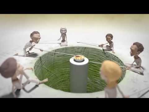 Анимационное видео на основе древней истории о голоде