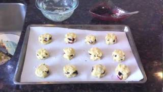 How To Make Blueberry Scones 90 Second Tutorial