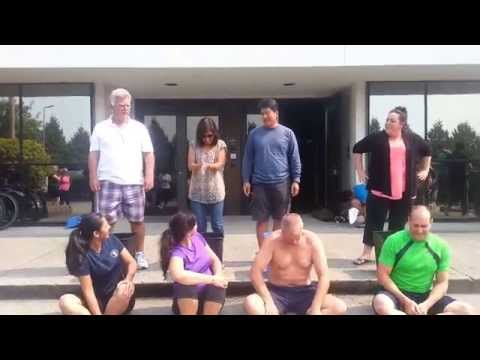 Ice Bucket Challenge Delta Controls - Una, Shilpi, and Grant