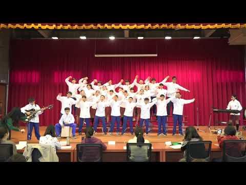 20181219忠明高中國中部英文歌唱比賽 10國一4班