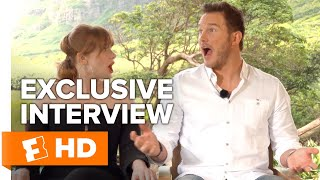 What Chris Pratt Wants to See in Jurassic World 3 and More! | UNCUT Fallen Kingdom Cast Interview