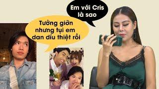 Bị Nam Thư gọi hỏi về mối quan hệ với Cris Devil Gamer, Quang Trung đáp trả lầy lội