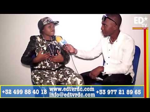 """KIN MUSIC REÇOIT CLARISSE  MOTHO """"LA VOIX FÉMININE LA PLUS PURE DE LA RDC""""."""