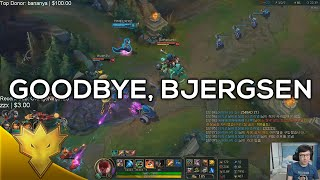 Bjergsen & Rush - Goodbye, Bjergsen - Korean Duo Queue Funny Moments & Highlights