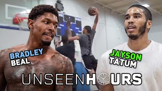 "Unseen Hours With Jayson Tatum & Bradley Beal! ""In Between Those Lines, We're Not Friends."""