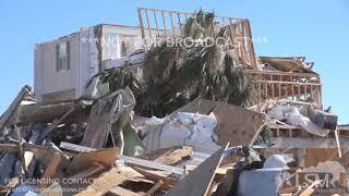 10/13/2018 Mexico Beach, Florida Catastrophic Hurricane Michael Damage